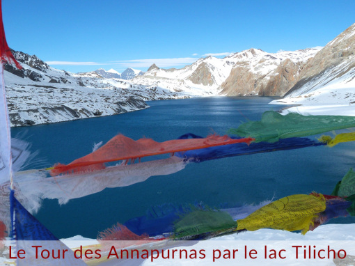 The Annapurna Circuit with Tilicho Lake