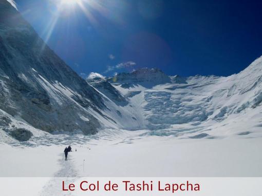 The Tashi Lapcha Pass